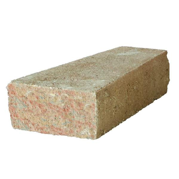 RockWall 2 in. x 4.25 in. x 9 in. Palomino Concrete Wall Cap (320 Pcs. / 89 Lin. ft. / Pallet)