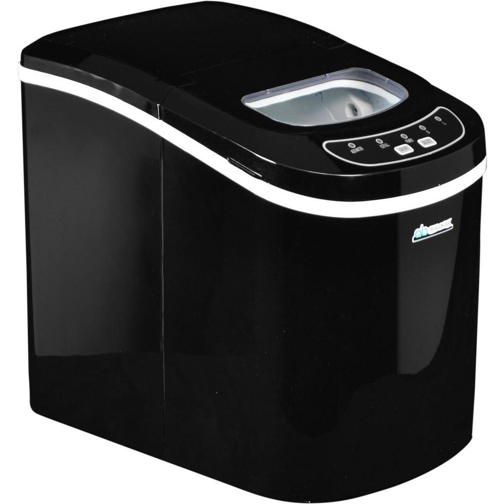 26 lb. Freestanding Ice Maker in Black