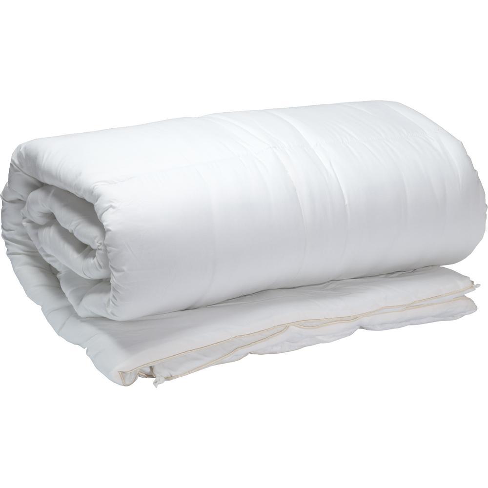 All Season Organic Cotton Down Full/Queen Comforter