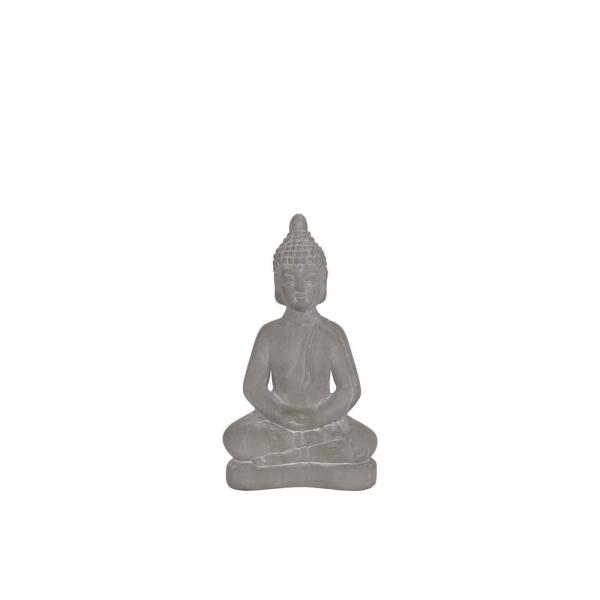 Urban Trends Collection 11.00 in. H Figurine Decorative Sculpture in Gray