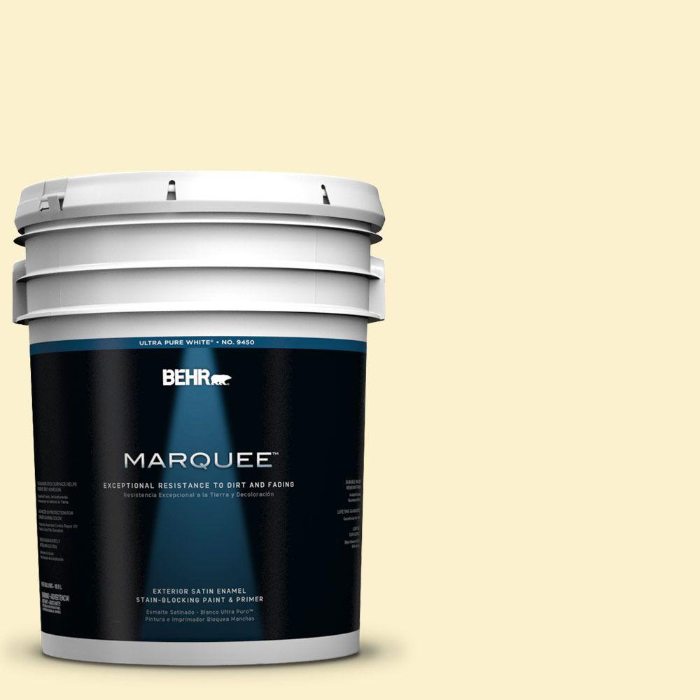 BEHR MARQUEE 5-gal. #390A-3 Twinkle Satin Enamel Exterior Paint