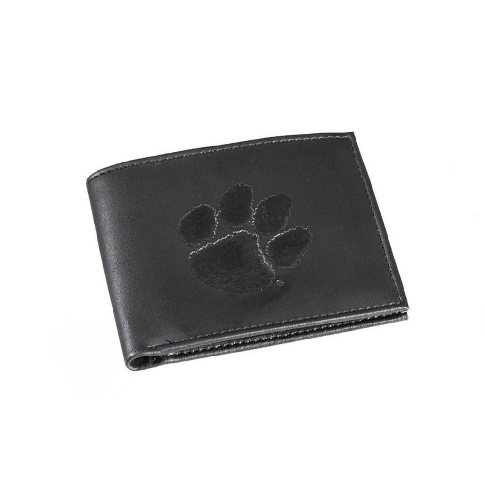 NCAA Clemson Tigers Bi-fold Wallet Black