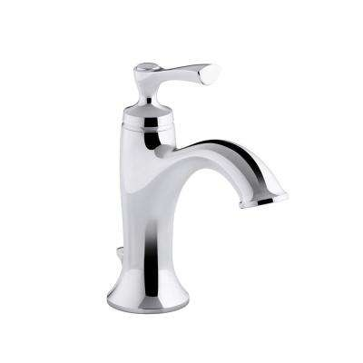 Elliston Single Hole Single-Handle Bathroom Faucet in Polished Chrome