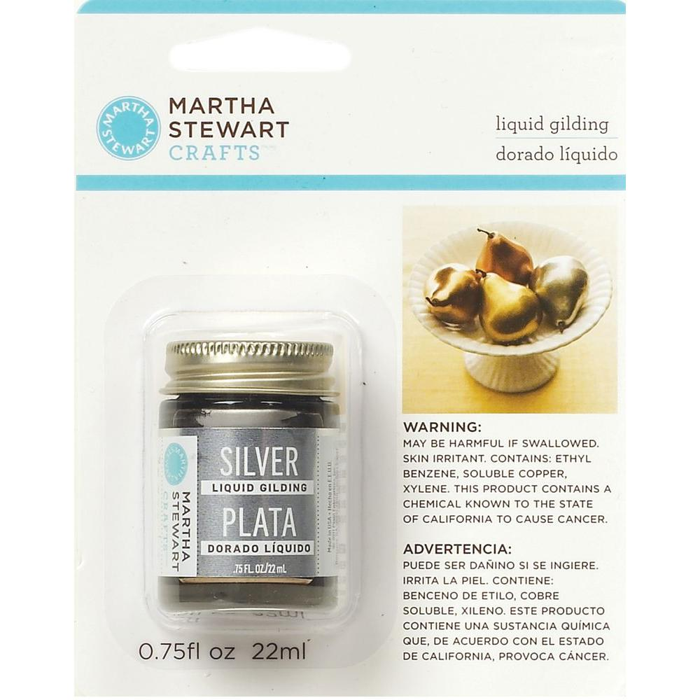 Martha Stewart Crafts 0.75-oz. Silver Liquid Gilding