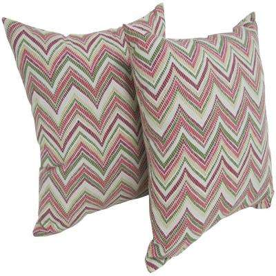 Rozelle Kir Square Outdoor Throw Pillow (2-Pack)