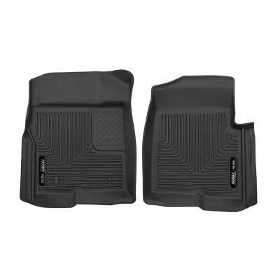 Front Floor Liners Fits 09-14 F-150 SuperCrew/SuperCab/Standard