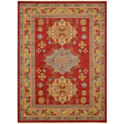 Serapi Red 10 ft. x 13 ft. Area Rug