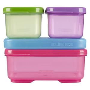 +2. Rubbermaid Lunch Blox Kids 4-Piece Pink Storage Container Set  sc 1 st  The Home Depot & Rubbermaid Lunch Blox Kids 4-Piece Pink Storage Container Set ...