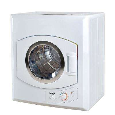 3.75 cu. ft. Compact Laundry Dryer, White