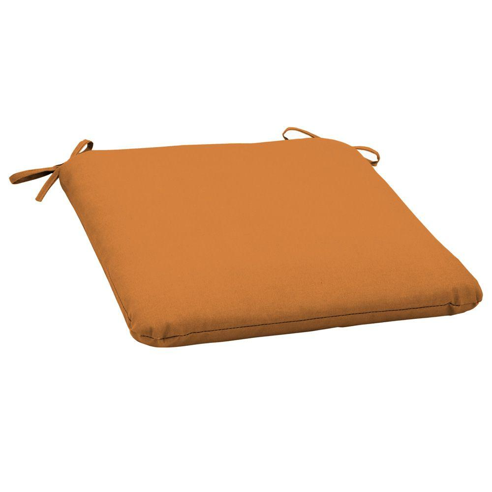 Arden Spice Solid Outdoor Seat Pad (2-Pack)-DISCONTINUED