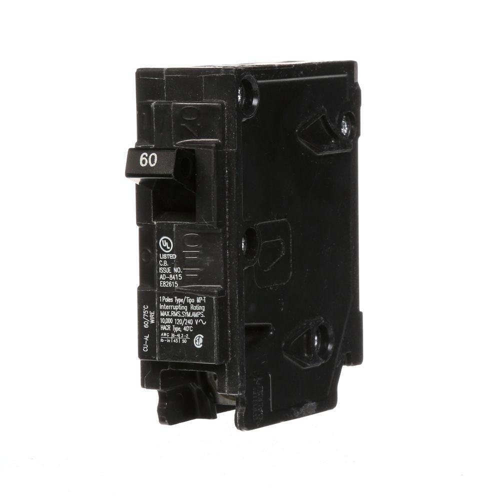 Murray 60 Amp Single-Pole Type MP Circuit Breaker