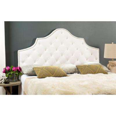 Arebelle White King Headboard