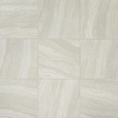 Hamilton Linear Gray 18 in. x 18 in. Ceramic Floor and Wall Tile (17.76 sq. ft. / case)