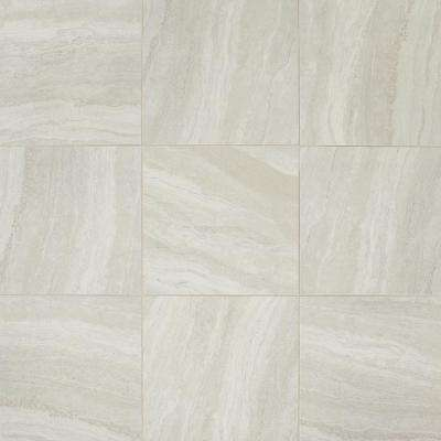 Hamilton Linear Gray 18 In X Ceramic Floor And Wall Tile