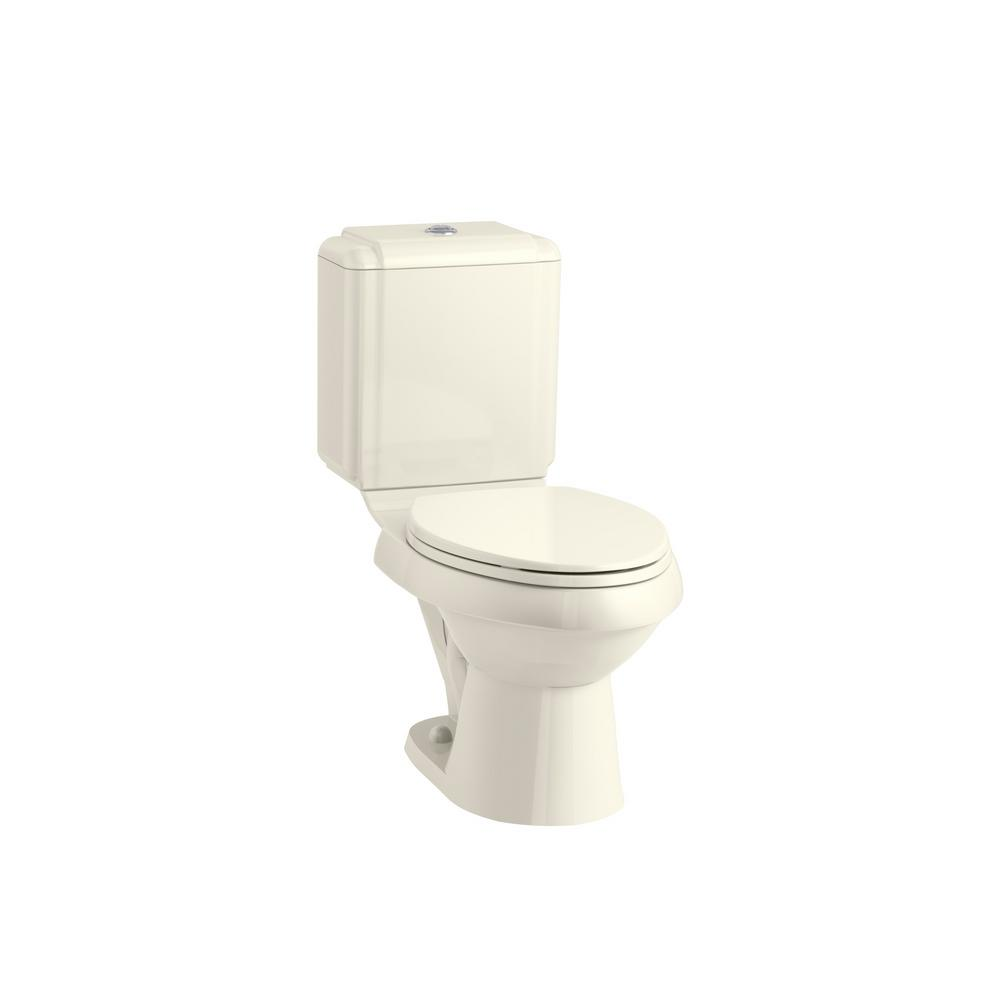 Fantastic Kohler Brevia Elongated Closed Front Toilet Seat In Biscuit Beatyapartments Chair Design Images Beatyapartmentscom