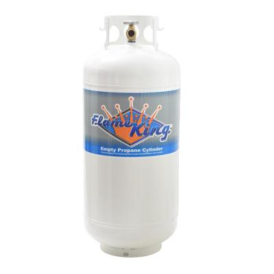 40 lbs. Empty Propane Cylinder with Overfill Protection Device Valve