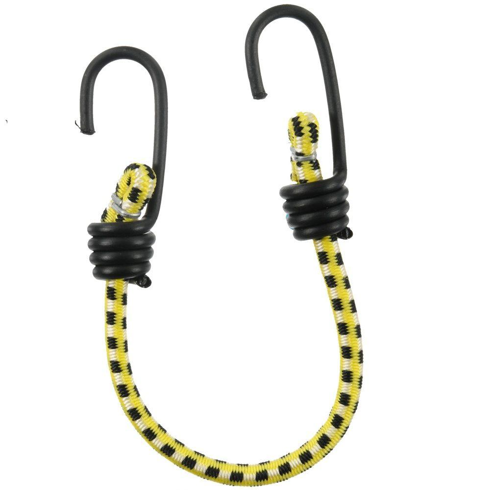 13 in. Bungee Cord with Coated Hooks