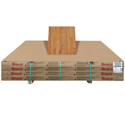 Plano Marsh Oak 3/4 in. Thick x 2-1/4 in. Wide x Random Length Solid Hardwood Flooring (320 sq. ft. / pallet)