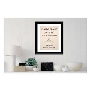 Amanti Art Steinway 16 inch x 20 inch White Matted Black Picture Frame by Amanti Art