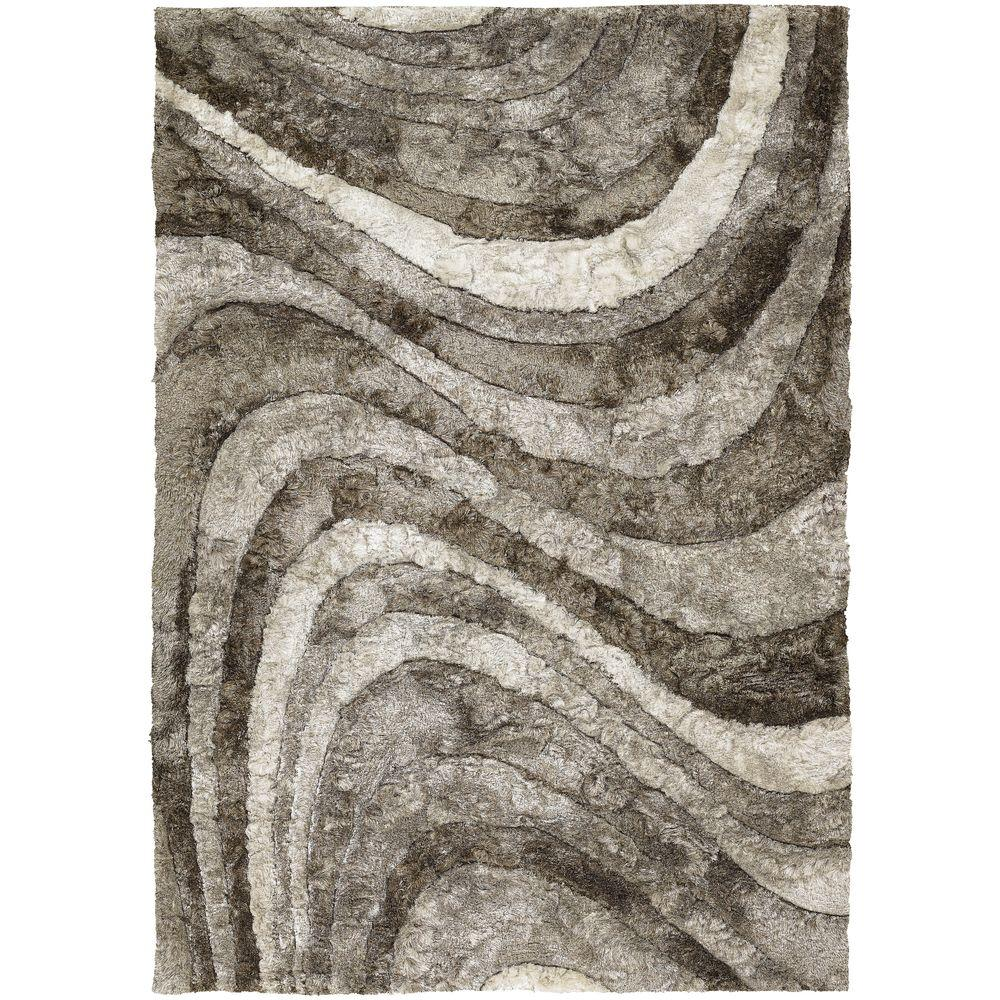 Chandra Flemish Ivory/Taupe/Beige 7 ft. 9 in. x 10 ft. 6 in. Indoor Area Rug