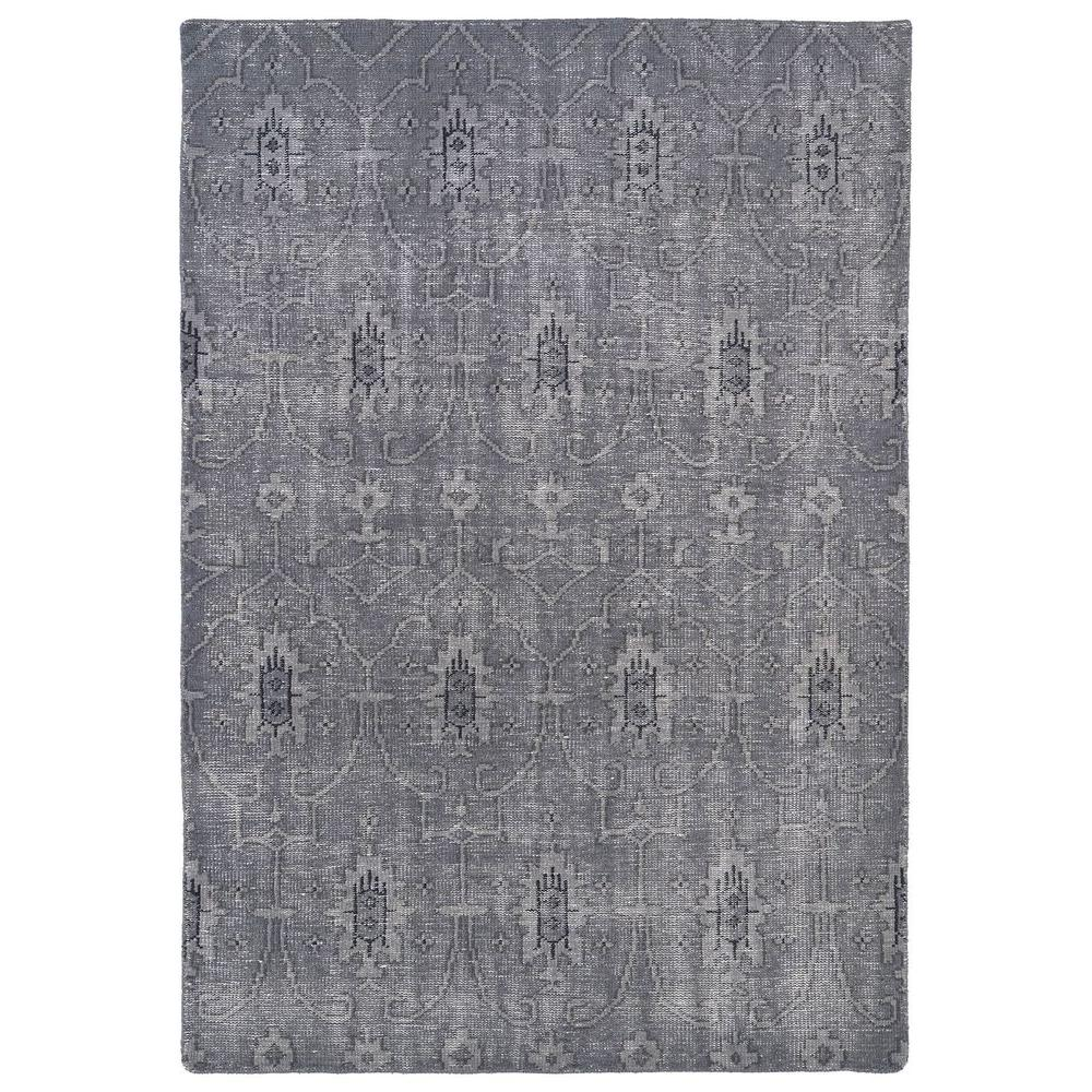 Kaleen Restoration Grey 4 Ft X 6 Ft Area Rug Res01 75 4 X 6 The