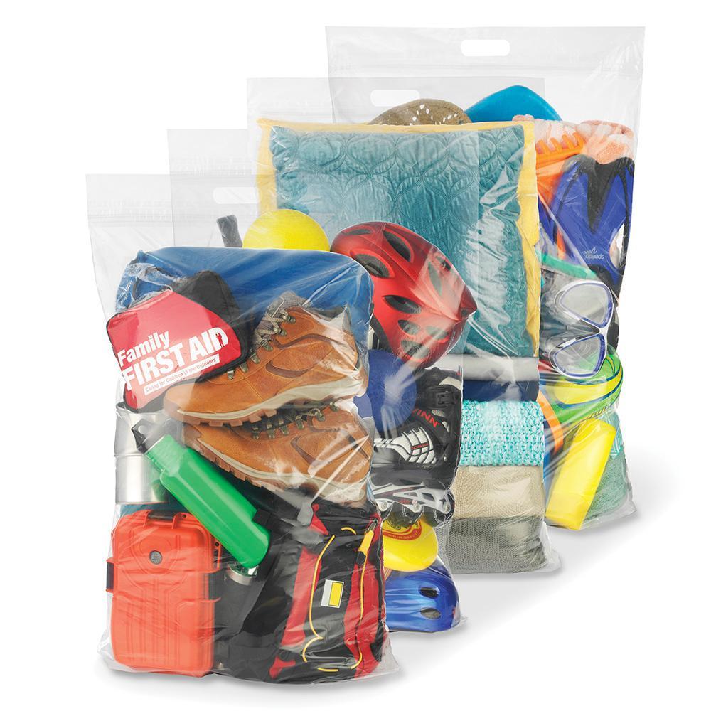 Ziploc Space Bags Plastic Hanging Bag 645504 The Home Depot
