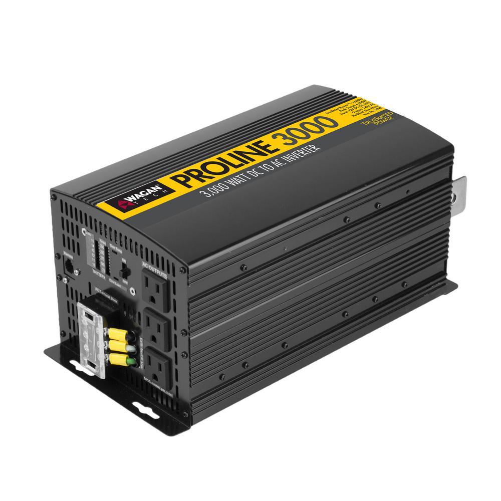 Pro Line 3000-Watt/6000-Watt Inverter