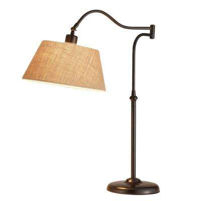 Rodeo 27 in. H Antique Bronze Table Lamp