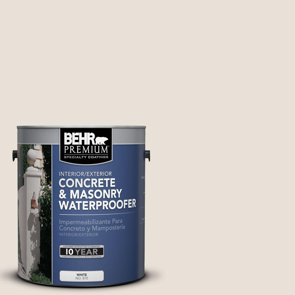 BEHR Premium 1 gal. #BW-23 Bleached Dunes Concrete and Masonry Waterproofer