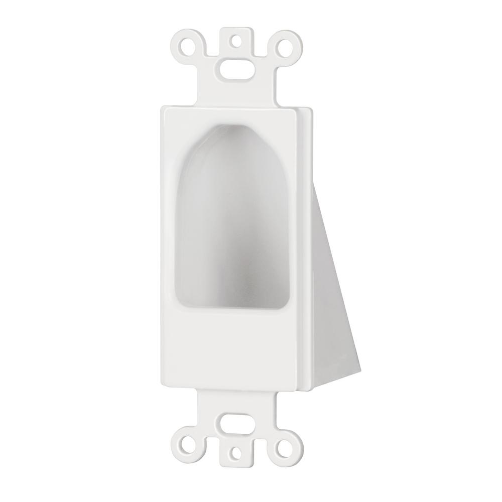 Commercial Electric Recessed Decor Insert White 5084 Wh The Home