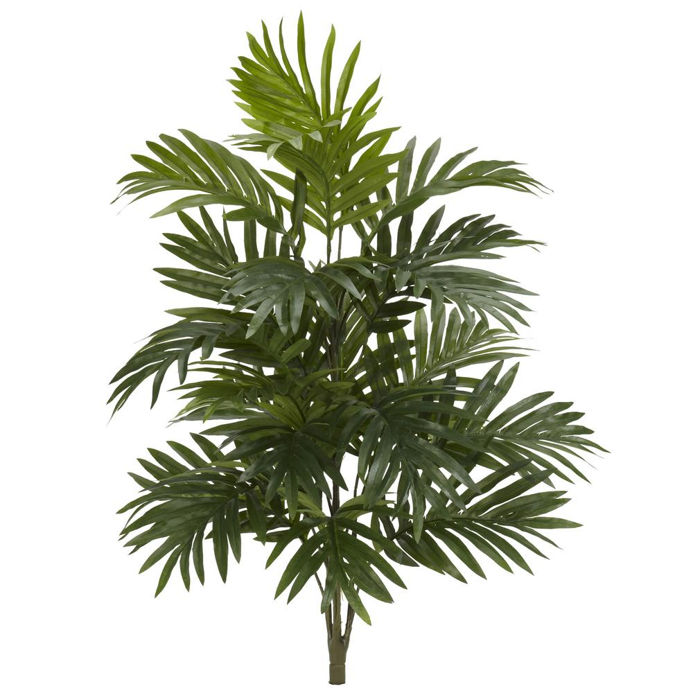 Indoor 30 in. Areca Palm Artificial Plant (3-Set)