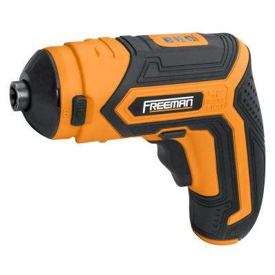 3.6-Volt Lithium-Ion Cordless 1/4 in. Rechargeable Electric Mini Screwdriver Kit w/Charger, Attachments, Hex Bits & Case