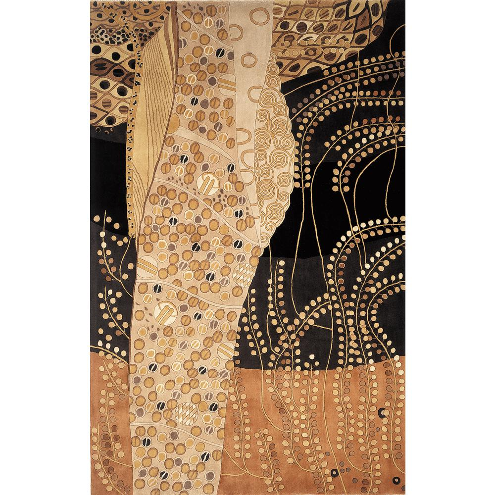 Contempo Black 9 ft. 6 in. x 13 ft. 6 in.
