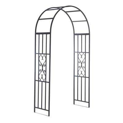Bois 91 in. x 48 in. Steel Arbor