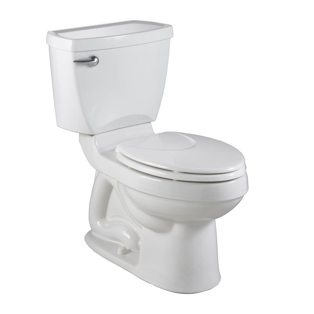 American Standard Champion 4 2-piece 1.6 GPF Right Height Elongated Toilet in White