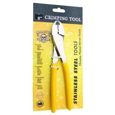 8 in. Stainless Steel Crimper