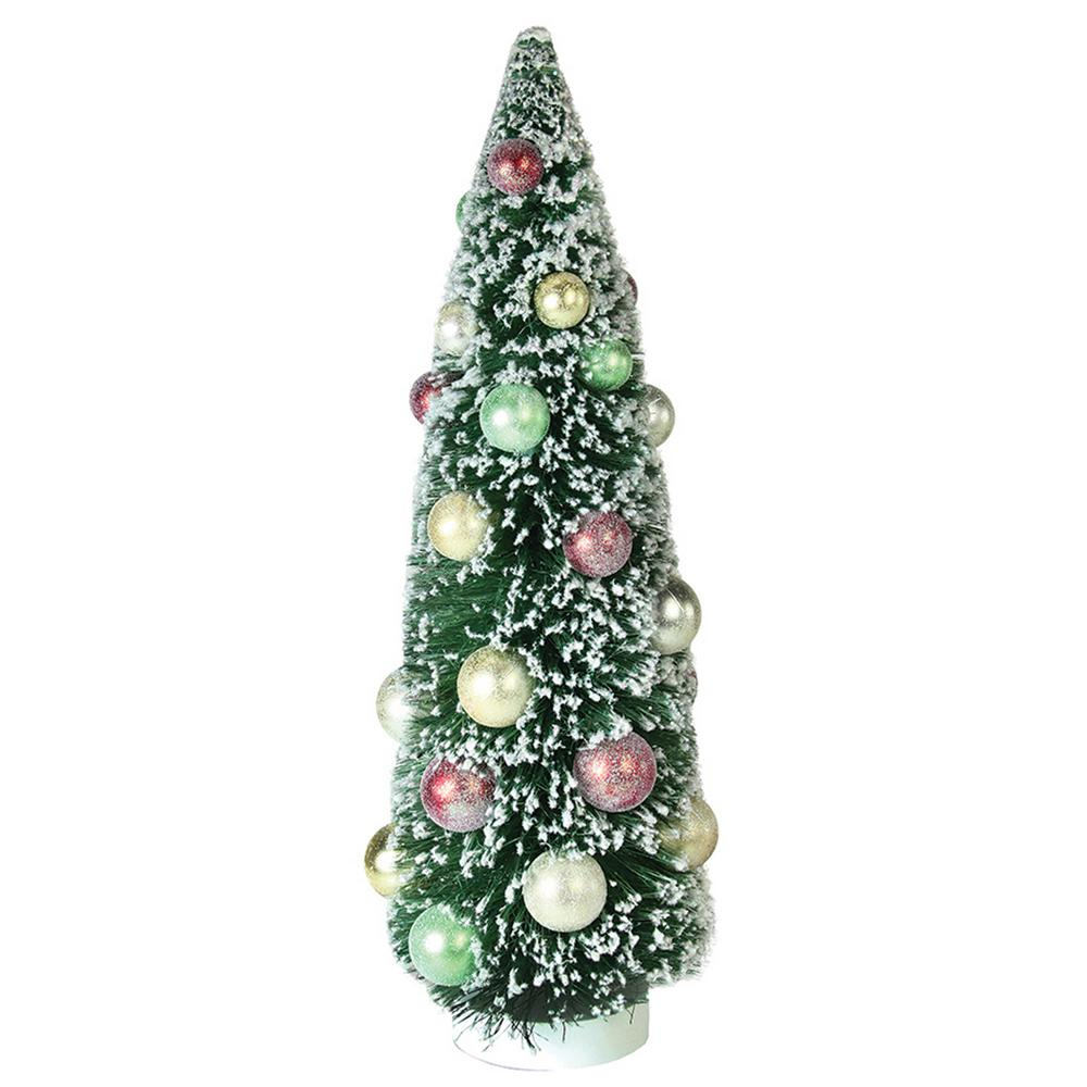 Phenomenal Northlight 15 In Frosted Green Sisal Pine Artificial Christmas Table Top Tree Home Interior And Landscaping Ologienasavecom