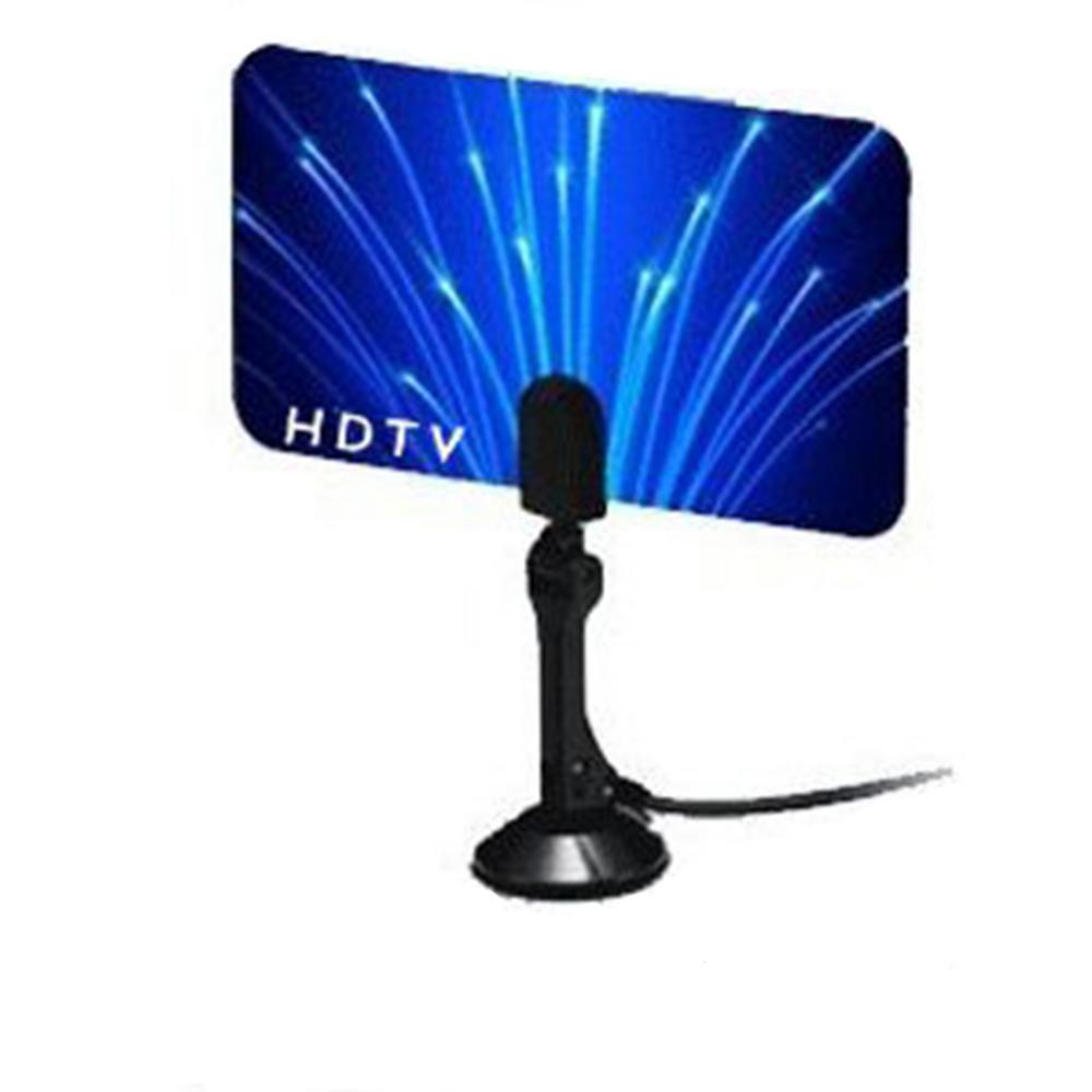 BoostWaves Digital Flat Thin Leaf TV Antenna HDTV Antenna UHF/VHF FM Radio  - FlagShip Model