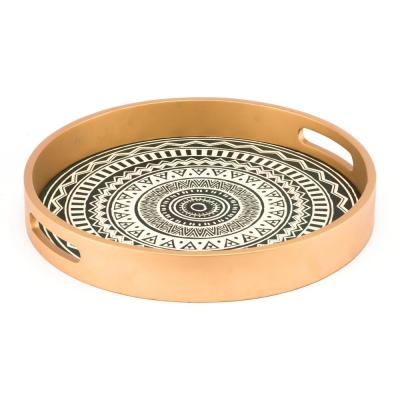 Tribal Gold Tray