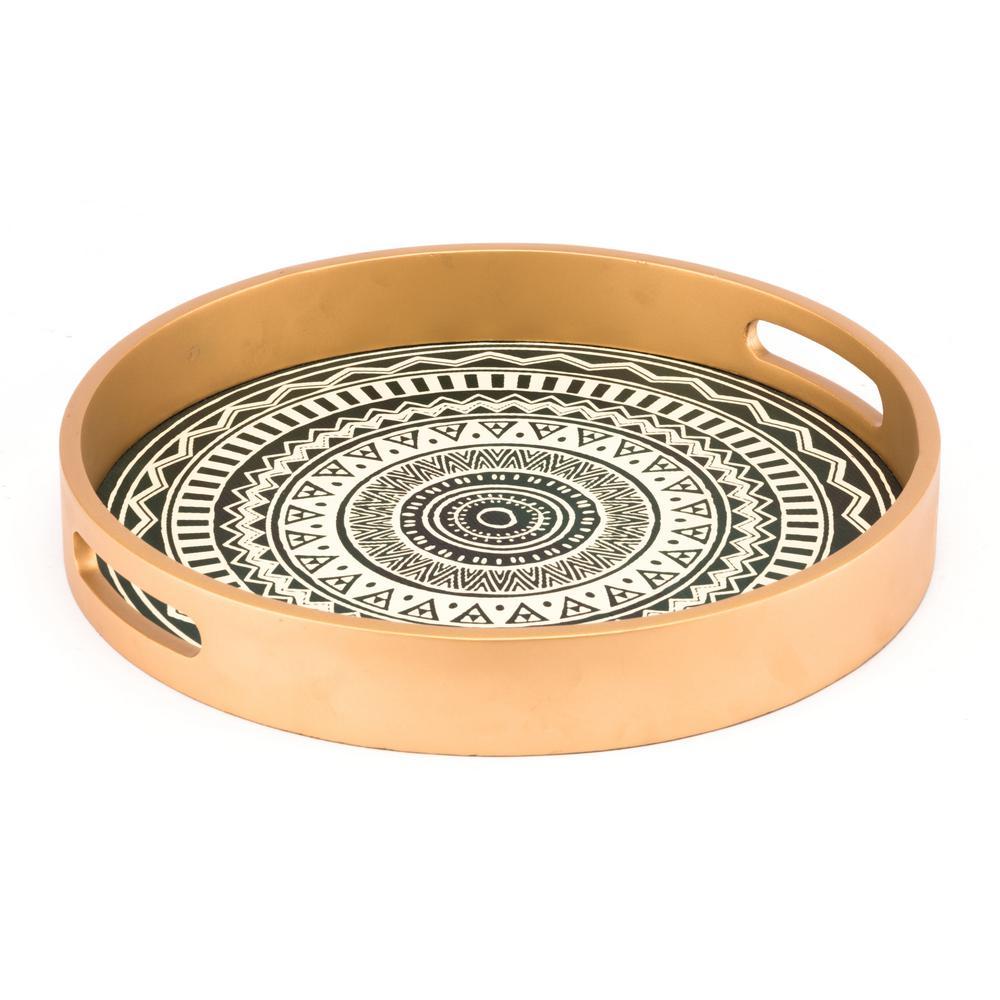 Tribal Gold Tray
