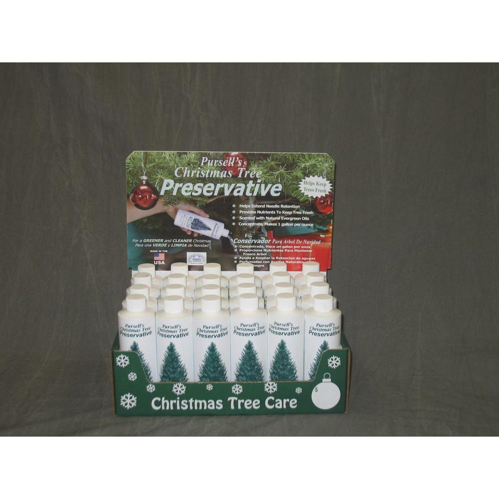 Christmas Tree Preservative.Pursell S Christmas Tree Preservative 8 Oz Christmas Tree Preservative