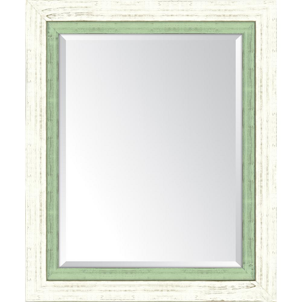 Melissa Van Hise 30 in. x 36 in. Framed French White Large and Mint ...