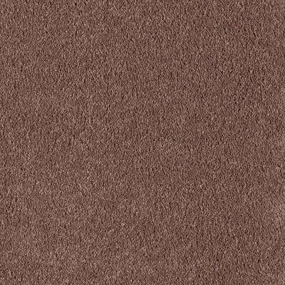 Velocity I - Color Colonial Brown Texture 12 ft. Carpet