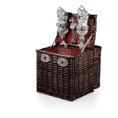 Harmony Collection Vino Willow Wine and Cheese Basket