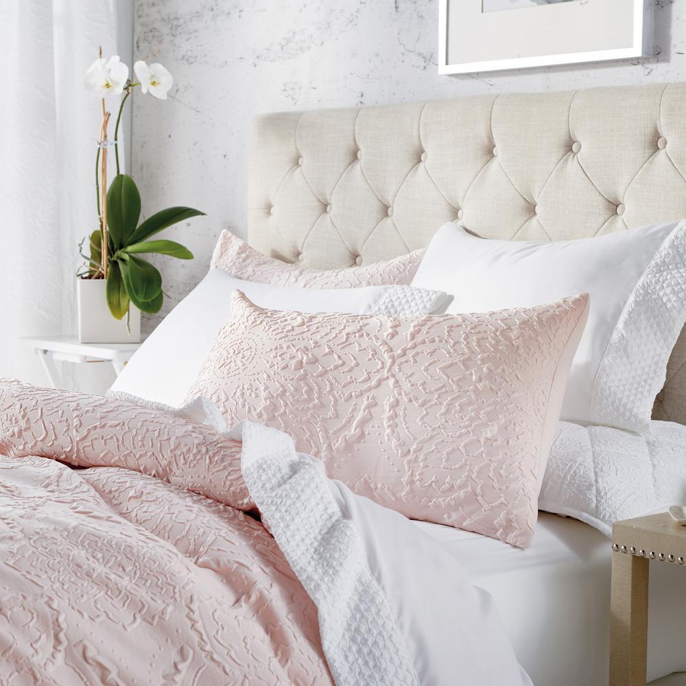 3-Piece Blush King Comforter Set