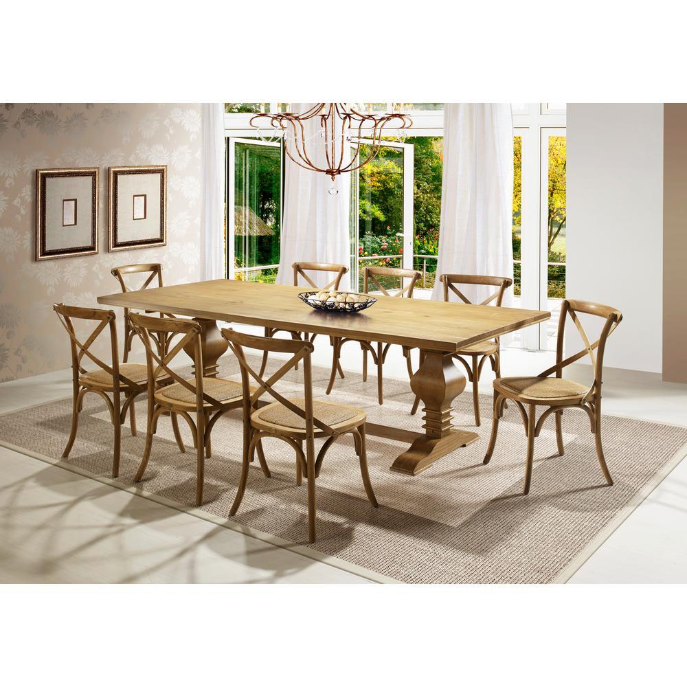 Artefama Furniture Tower 79 In. Oak Dining Table-5923.0002