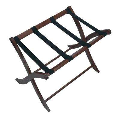 Scarlett Walnut Luggage Rack