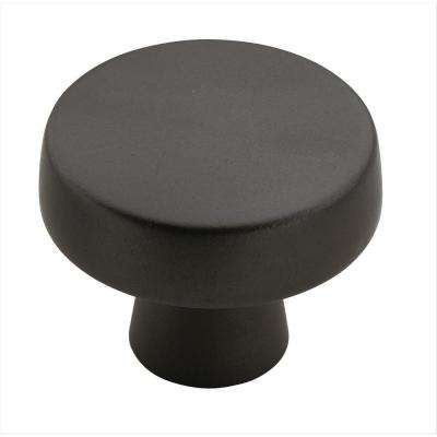Blackrock 1-5/8 in (44 mm) Diameter Black Bronze Cabinet Knob