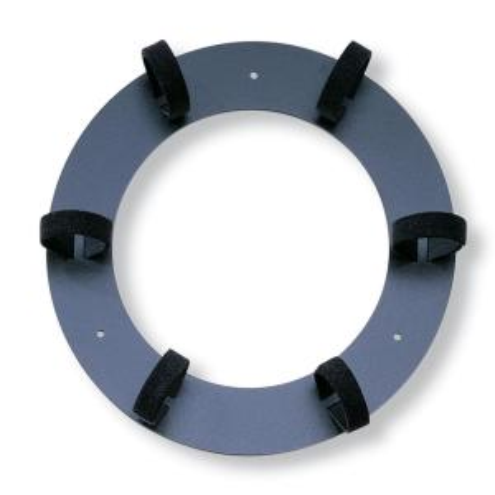 Leviton 11.75 inch Dia Recloseable Storage Ring, Black by Leviton