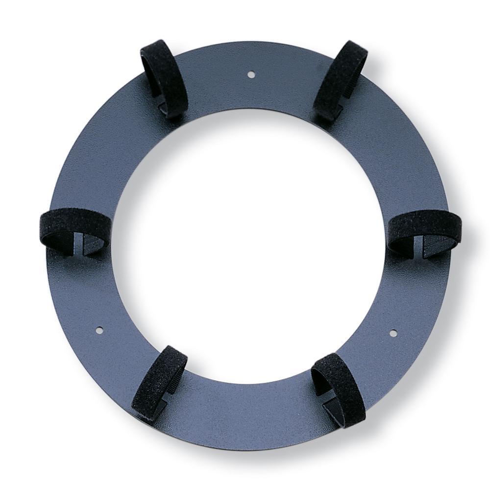 11.75 in. Dia Recloseable Storage Ring, Black